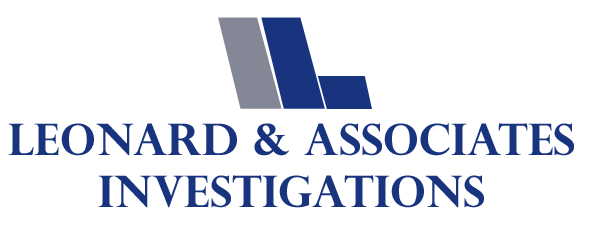 Logo, Leonard & Associates Investigations - Private Investigator